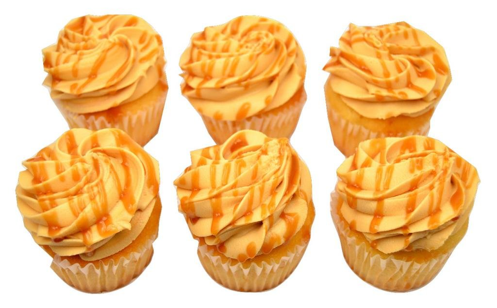 Brooklyn Cupcake, Dulce de Leche, 6 pack: Amazon.com: Grocery & Gourmet Food