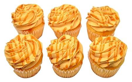 Brooklyn Cupcake, Dulce de Leche, 6 pack: Amazon.com: Grocery & Gourmet Food