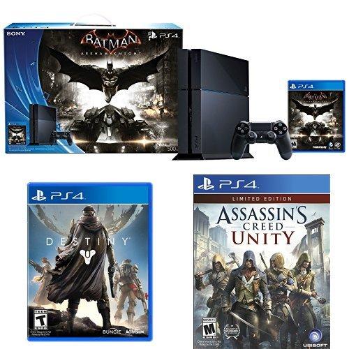 playstation 4 batman arkham knight bundle limited edition