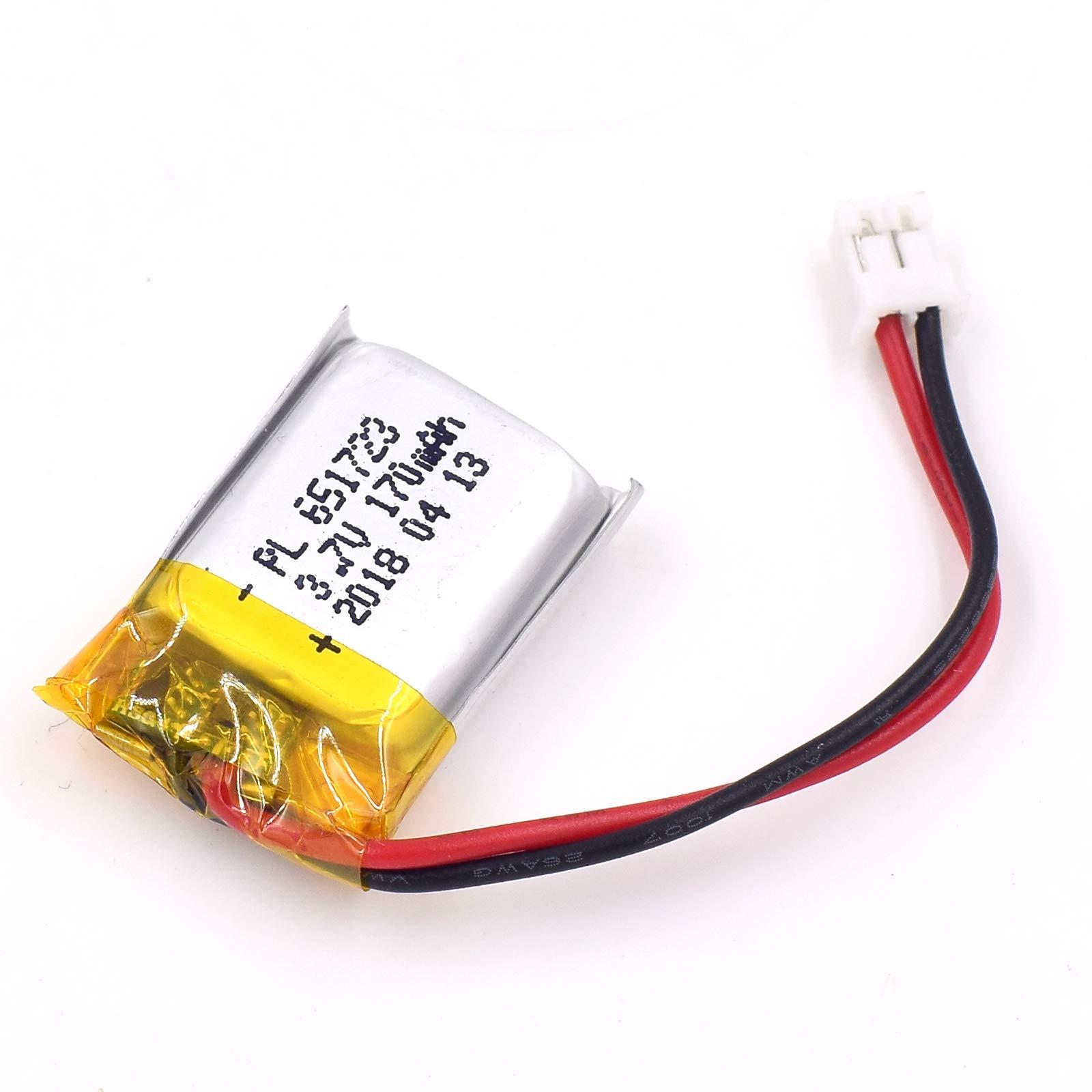 Bateria LIPO 3.7V 170mAh 651723 3.7V 170mah RC YDL