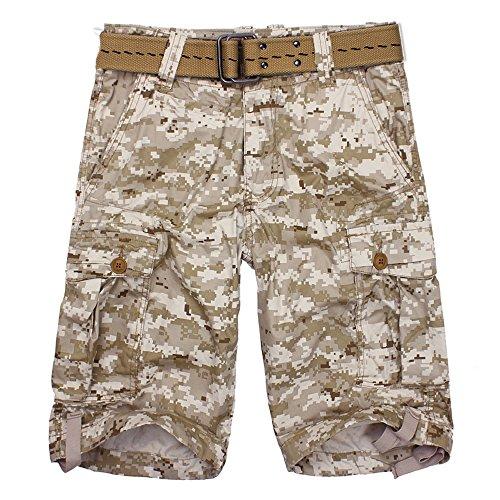 Pocket Cargo Shorts Desert Camo - 1