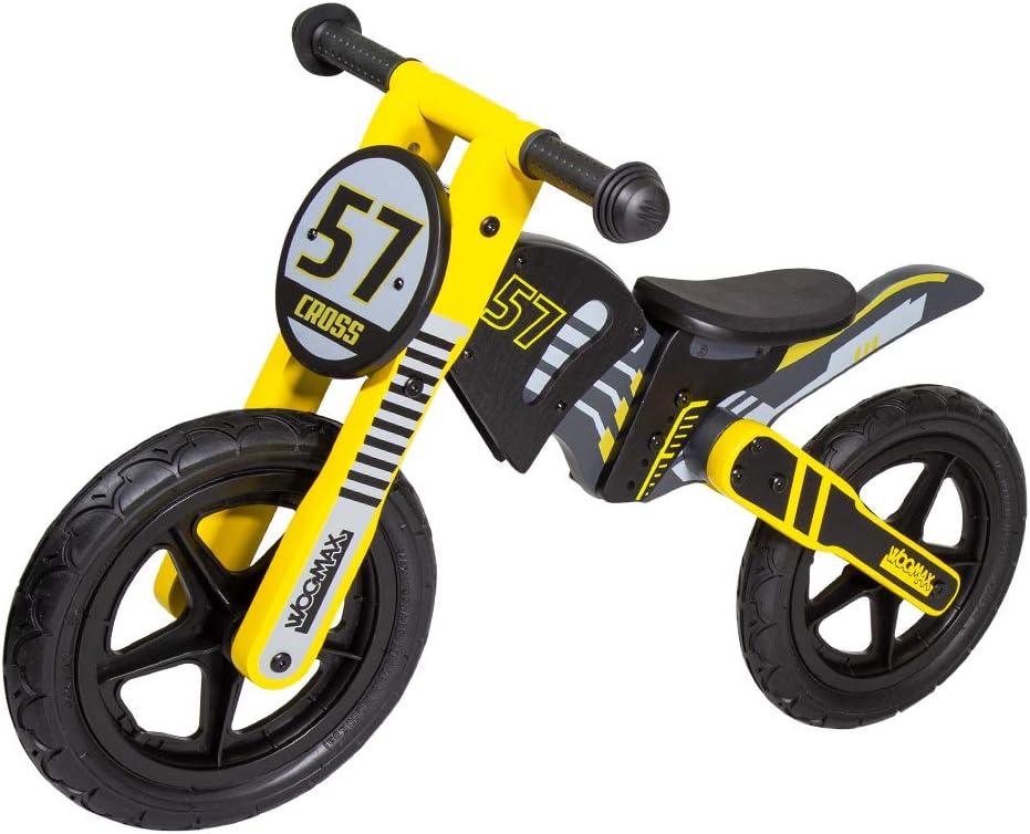 WOOMAX Bici sin pedales en madera Cross 57 12