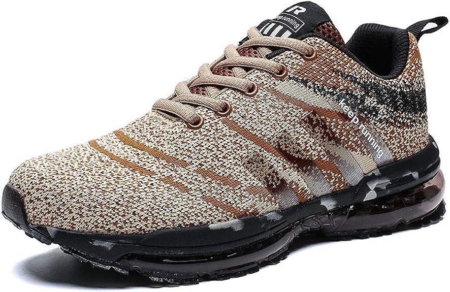 Kuako Hombre Zapatos para Correr Transpirables Resistente Running ...