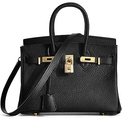 MACTON handbag Genuine Leather Women Crossbody Bag MC-8025 (B l a c k) 1edd5c0f2420c