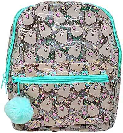 31bb7beedfd6 Officially Licensed Pusheen Character All Over Popsicle Print PVC Mini  Backpack