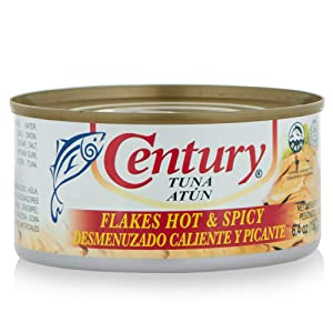 Century Tuna Hot and Spicy, 6.4Ounce (Pack of 12)