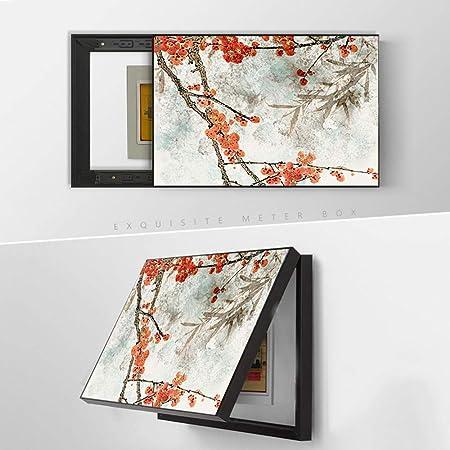 SHUQING Cuadro de Pintura de Lienzo, Pintura Decorativa de Caja de medidor, impresión de Lienzo Natural,