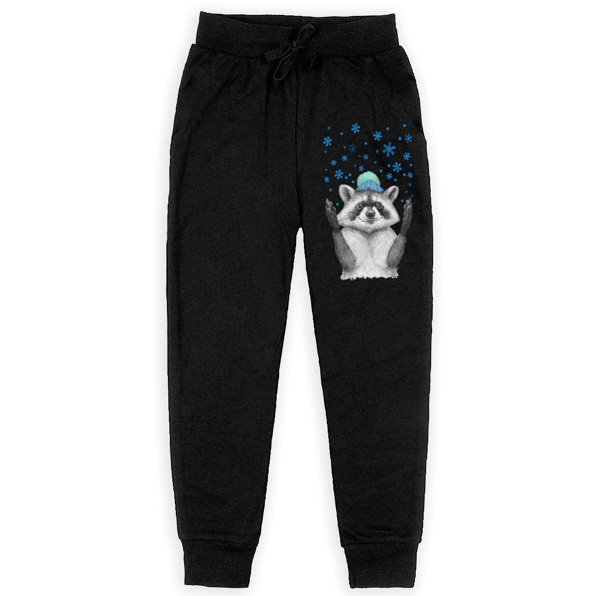 IufnNRJndfu Raccoon Boys Athletic Smart Fleece Pant Youth Soft and Cozy Sweatpants