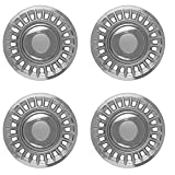 Hub-Caps for Select Ford Crown Victoria & Mercury Grand Marquis (Pack of 4) 16 Inch Chrome Wheel Covers