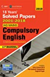 IAS Mains Compulsory English: Solved Papers 2001-18