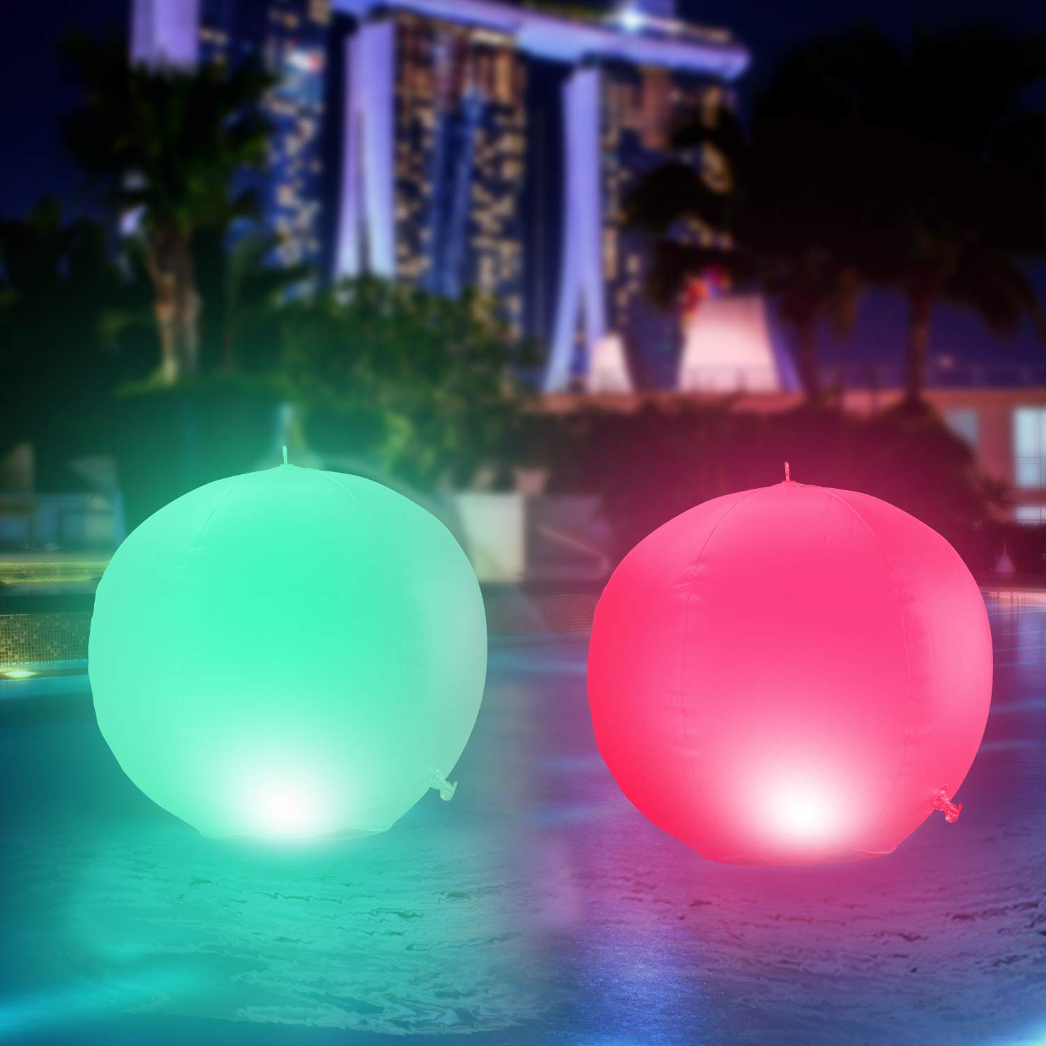 MUCH Solar Floating Pool Lights