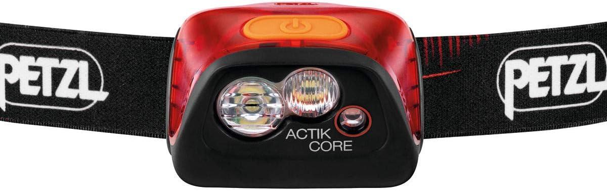 PETZL ACTIK CORE ROSSO LAMPADA E099GA01