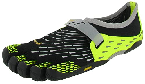 Fivefingers Komodo Sport - Zapatillas de Correr de Material sintético Hombre, Color Negro, Talla