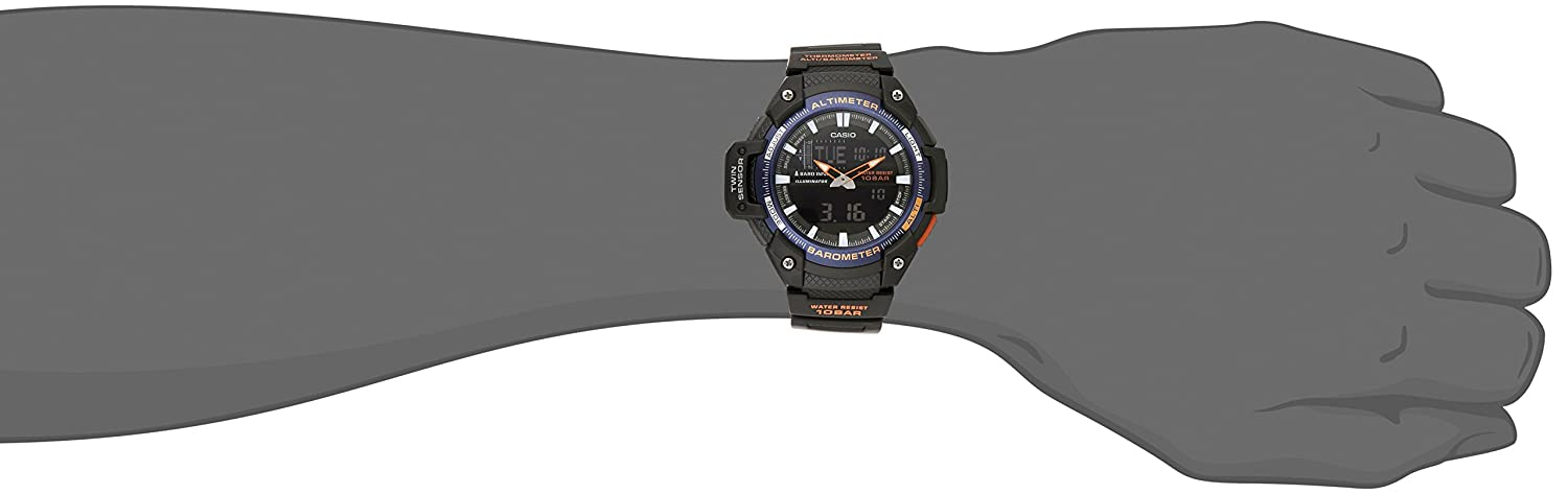 Casio SGW 450H 2BCF Sensor Analog Digital Black Image 2