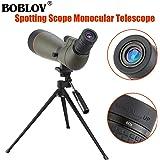 BOBLOV 20-60 X 80 Spotting Scope Bak4 Prisms Waterproof Scopes Telescope for Target Shooting Archery Range Scenery with Tripod (Spotting Scope)