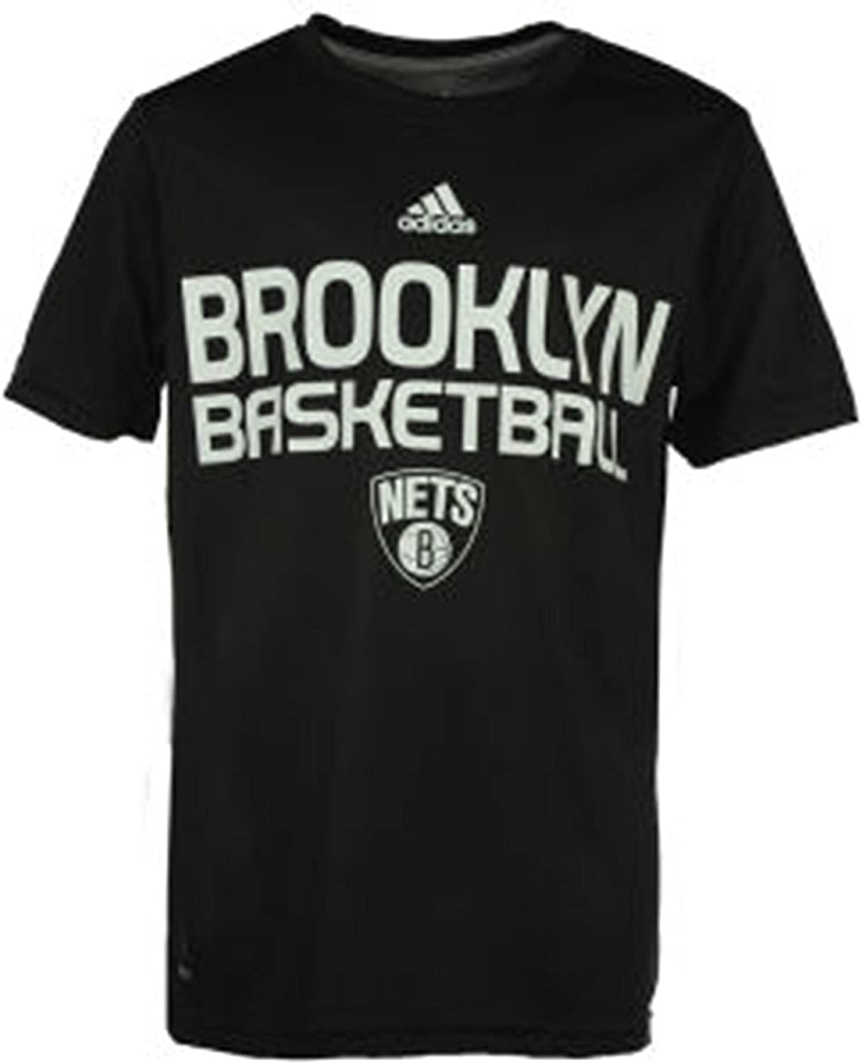 adidas Kids Brooklyn Nets Stacked High T-Shirt