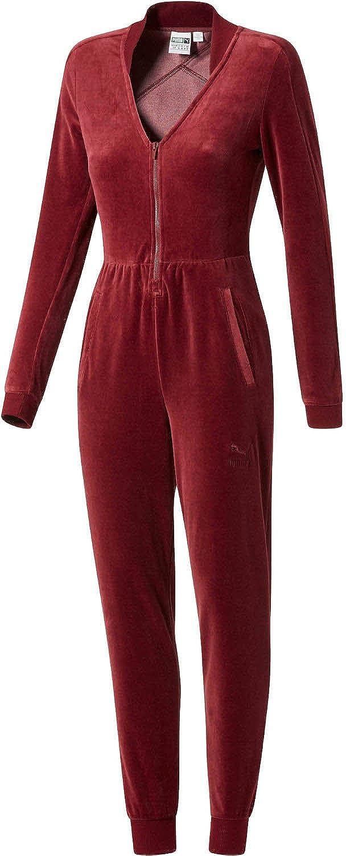 fd1410d32714 Puma - Womens Velour T7 Jumpsuit