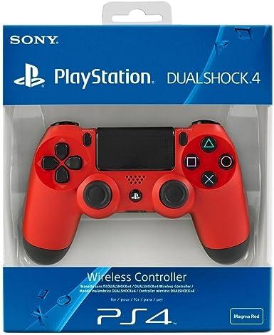 Sony - Mando Dual Shock 4, Color Rojo (Playstation 4): Amazon.es: Videojuegos
