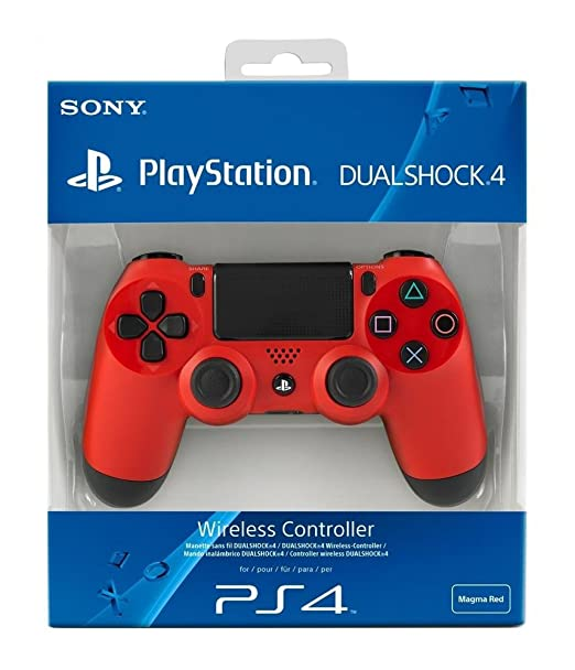 1471 opinioni per PlayStation 4- Controller Dualshock 4 Wireless, Red per PS4