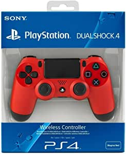 Sony - Mando Dual Shock 4, Color Rojo (Playstation 4)