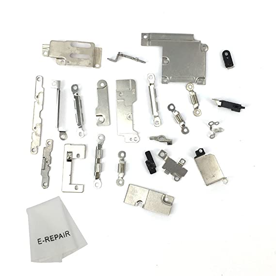 promo code de102 fc4c0 Full Set Small Metal Internal Bracket Replacement Parts Shield Plate Kit  for Iphone 6 Plus 5.5''