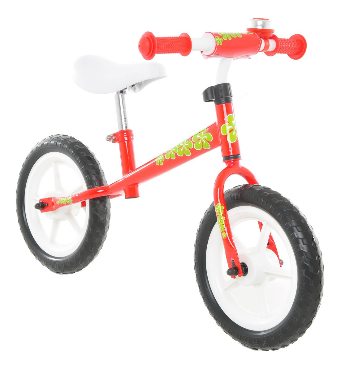 Vilano No Pedal Push Balance Bicycle for Children, Red by Vilano (Image #1)