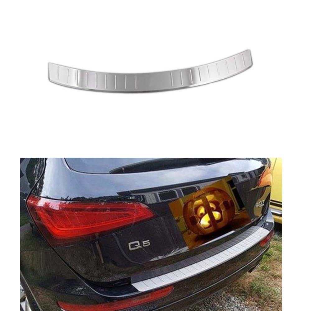 Opall Stainless Steel Rear Bumper Protector Sill Plate Step Cover Mobilio For Audi Q5 2009 2010 2011 2012 2013 2014 2015 2016 2017 Automotive