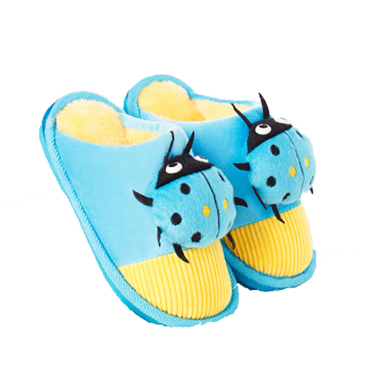 MENG SHENG Winter Cotton Cartoon Thick Baby Cute Slippers