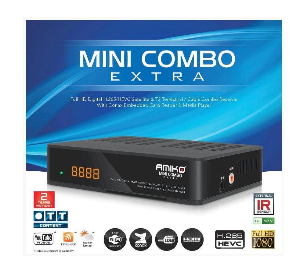AMIKO Mini Combo Extra (2000dmips) H.265 DFP Elettronica Store