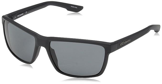06b1705013 Columbia Gafas de sol rectangulares zonafied para hombres, tiburš®n mate,  58 mm: Amazon.es: Ropa y accesorios