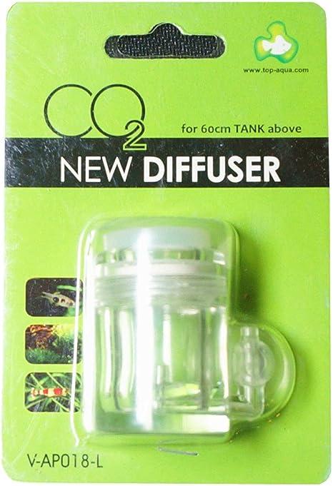CO2 Bubble Counter /& Check Valve for Aquarium Water Plants Solenoid Diffuser