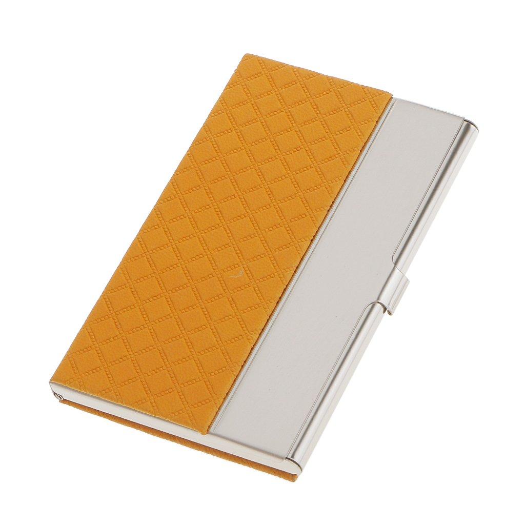 Boîte de Carte de Visite Box En Acier Inoxydable Carte Crédit Organisateur Porte-carte - Blanc, l Generic STK0157006270
