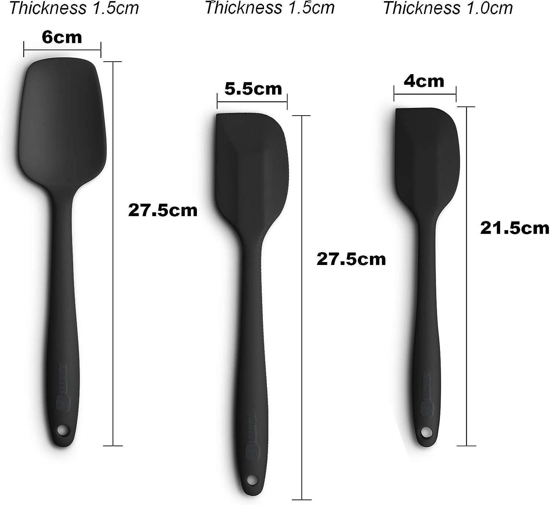 Lurch Black Tool Spatula Silikon 23,5cm 00221605