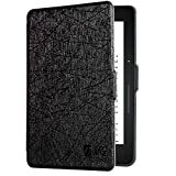 DMG Case for Kindle Voyage - Thin Lightweight Protective Slim Shell Cover with Auto Sleep / Wake for Amazon Kindle Voyage (Black)