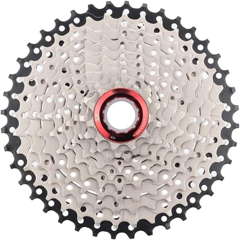 Gracorgzjs - Rueda voladora de aleación de Aluminio para Bicicleta de montaña MTB (10 velocidades, 40T): Amazon.es: Deportes y aire libre