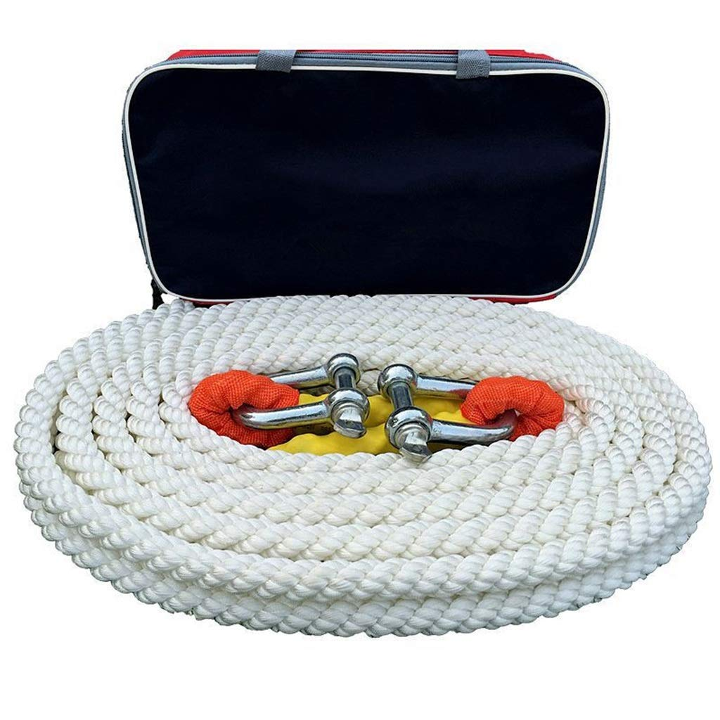 Car Tow Rope 15 Tons 5 Meters\ 7 Meters\9 Meters Off-road Vehicle Traction Rope Tow Rope Trailer With Pull Rope