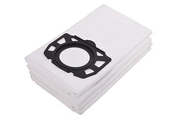 555e3196e360 VIRAT PREMIUM Polypropylene X Fleece Filter Dust Bags for Karcher  MV4 MV5 MV6 Wet