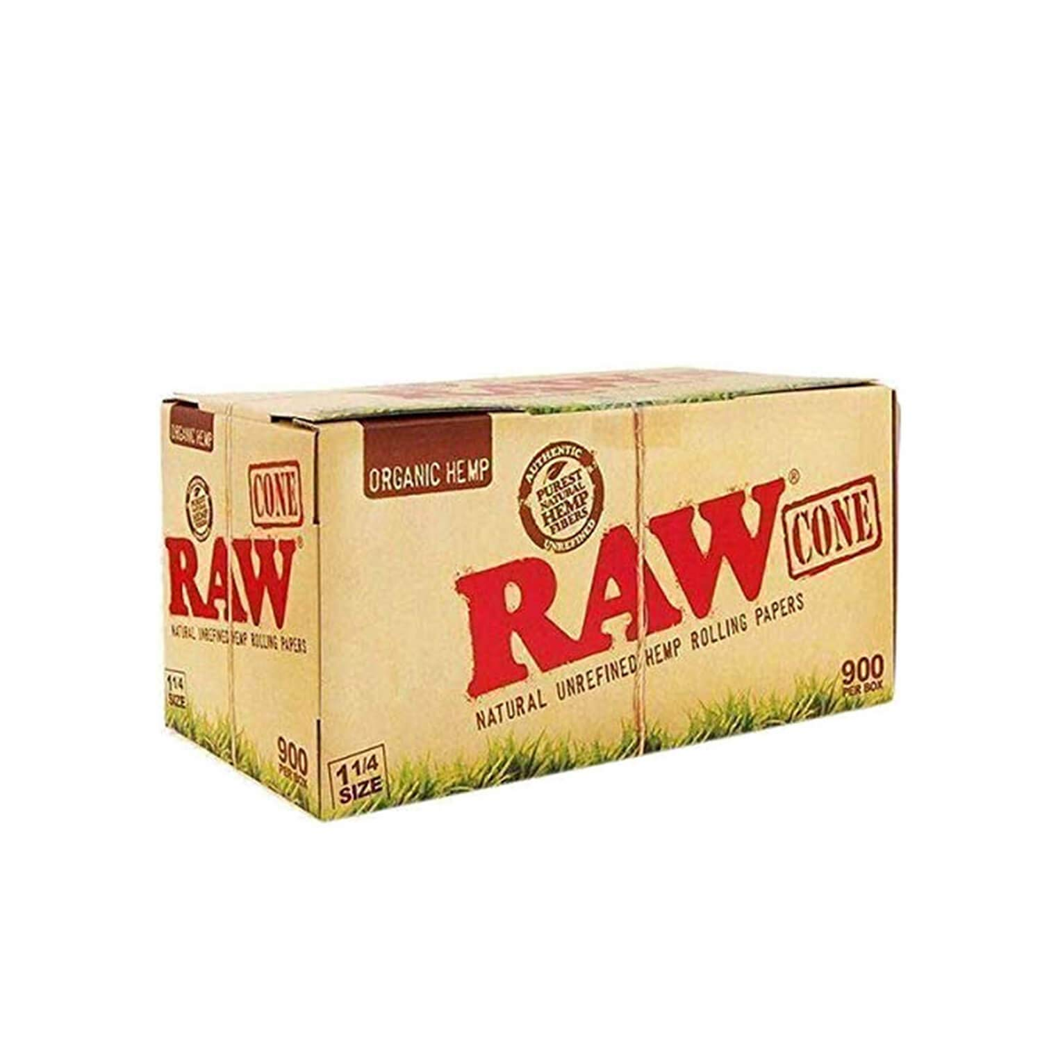 900 Raw Organic Pre Rolled 1/4 Cones