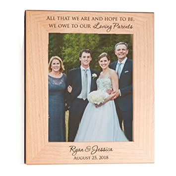 Amazoncom Lifetime Creations Personalized Parents Of The Bride