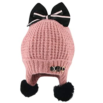 71fbb7872 Amazon.com : Baby Boy Winter Warm Knitted Earflap Hat Clearance Sale ...