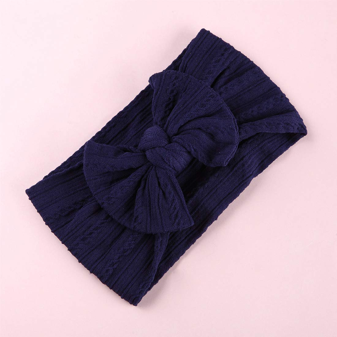 Joyfeels Store Cintas para el pelo de Nylon para beb/és Turbante Knotted Girls Hairband Super suave y el/ástica Wrap para reci/én nacidos Toddle para ni/ños