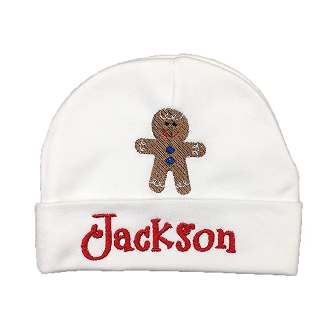 a116efc826d Amazon.com  Ava s Miracles Personalized Baby Hat with Embroidered ...