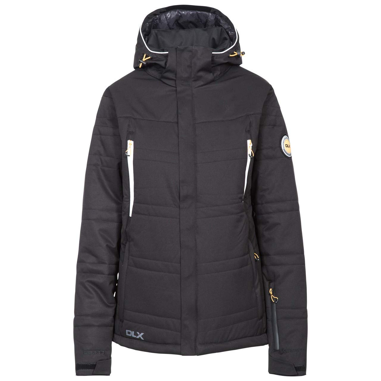 Black Trespass Womens Ladies Thandie Ski Jacket