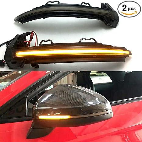 Amazon.com: 1 par de luces indicadoras LED para espejo ...
