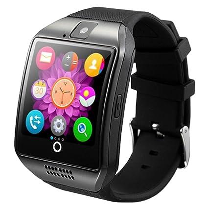 Amazon.com: SODIAL Newest Q18 Smart Watch Bluetooth ...