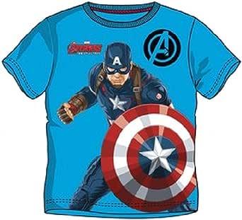 The Avengers – Camiseta Captain América Multicolor 10 Años: Amazon.es: Ropa y accesorios