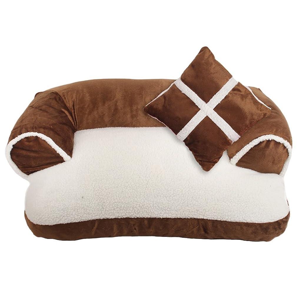 歴史家人種一般的なSIKIWIND ペット用テント ペットマット 小型ペット 猫犬ウサギなど用 折りたたみ 巢 小屋 オックスフォード 全2色 (ピンク)
