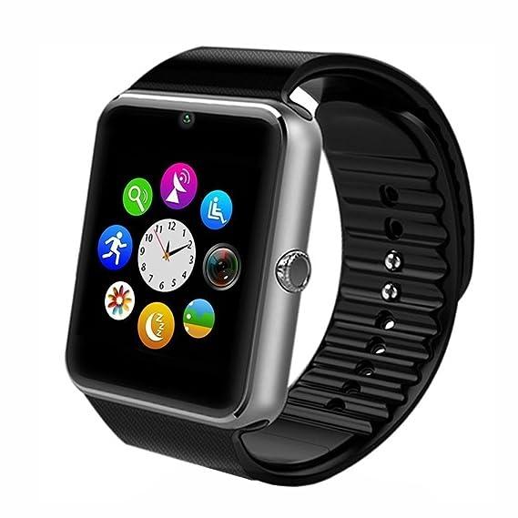 Smart Uhr Männer Frauen Sport Armband Q18 Bluetooth Touchscreen Große Batterie Smartwatch Unterstützung Tf Sim Karte Kamera Ios Android Verkaufspreis Herrenuhren