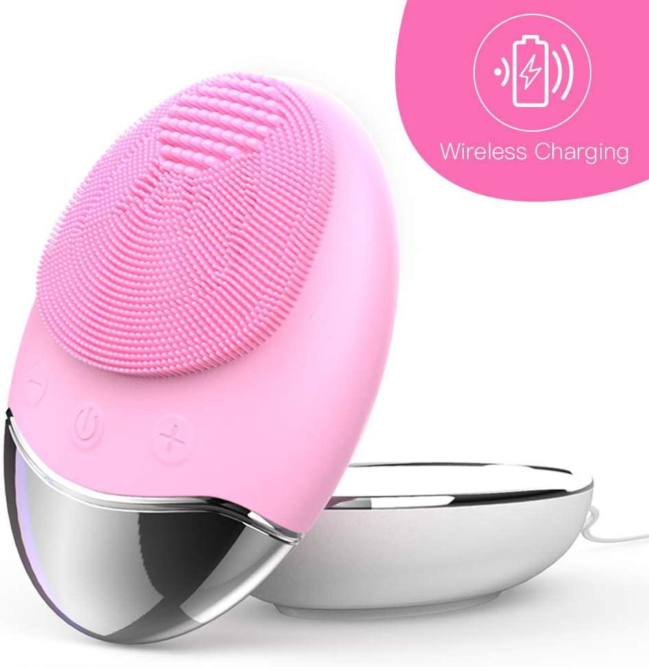 Esponja Limpiadora Facial de Silicona Cepillos y aparatos para limpiar la cara, cepillo y masajeador facial eléctrico