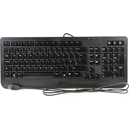 Amazon.com: Genuine Dell Y528K, SK-8185 Portuguese Foreign Slim Black USB Wired Computer PC Plug-n-Play Keyboard Teclado Compatible Part Numbers: Y528K, ...